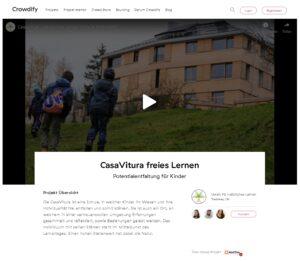 Crowdfunding CasaVitura